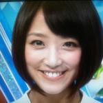 竹内由恵アナウンサーの前歯や歯並び(歯列矯正)