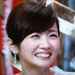 高島彩アナウンサーの前歯や歯並び