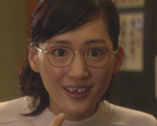 綾瀬はるか 歯が折れた写真