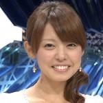 宮澤智アナウンサーの前歯の画像(歯列矯正)