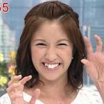 宇佐美佑果アナウンサーの前歯や歯並び(ビーバー歯)