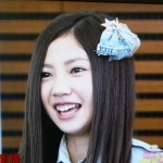 SKE48の北川綾巴さんの前歯の画像
