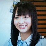 SKE48の松村香織さんの前歯の画像