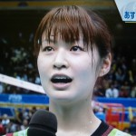 木村沙織選手の前歯の画像(八重歯)
