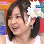 AKB48の岩田華怜さんの前歯の画像(ビーバー歯)