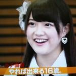 SKE48 木本花音さんの前歯の画像(二重歯列)