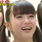NMB48の市川美織さんの前歯の画像(歯列矯正中)