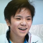 宇野昌磨選手の前歯や歯並び(歯列矯正中)
