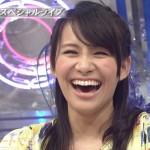 Perfumeの西脇綾香さんの前歯の画像