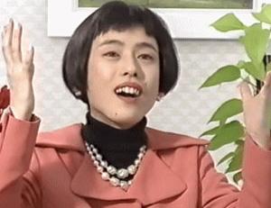 デビュー当時の久本雅美