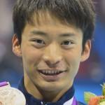 入江陵介選手の前歯や歯並び(牙)