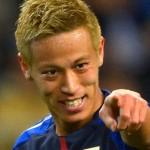 本田圭佑選手の前歯の画像