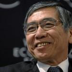 黒田東彦日銀総裁の前歯の画像