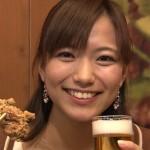 斎藤真美アナウンサーの前歯の画像
