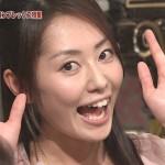 谷桃子さんの前歯の画像