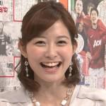 久冨慶子アナウンサーの前歯の画像