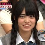 前田亜美さんの前歯や歯並びを分析(ビーバー歯)