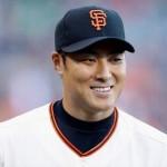 田中賢介選手の前歯の画像(前歯3本折れる)