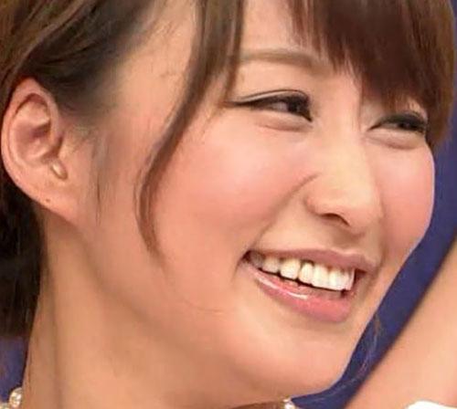 桝田アナの前歯
