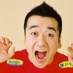 猫ひろしさんの前歯の画像(すきっ歯)