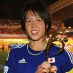 杉田妃和選手の前歯の画像(ビーバー歯・八重歯)