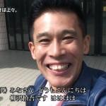 柳沢慎吾さんの前歯の画像(出っ歯)