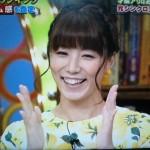 青木愛さんの前歯の画像