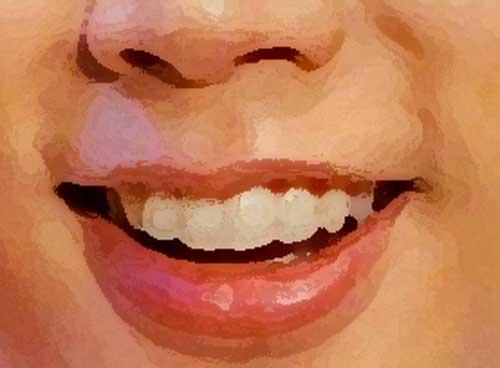 増田貴久 前歯のイラスト
