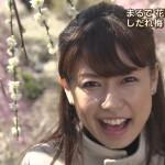 青山愛アナウンサーの前歯の画像(ビーバー歯)