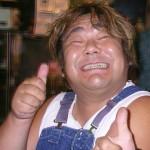 石塚英彦さんの前歯の画像(天然歯)