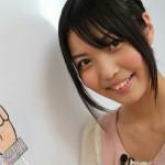 大坪由佳さんの前歯の画像(天然歯・ビーバー歯)