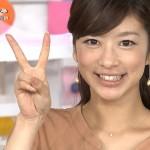 生野陽子アナウンサーの前歯の画像(ビーバー歯)