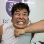 岩橋良昌さんの前歯の画像(取れた差し歯)