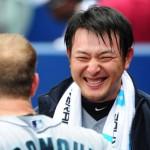 岩隈久志選手の前歯の画像(ガミースマイル)