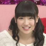 前島亜美さんの前歯の画像(ビーバー歯)