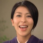 松たか子さんの前歯の写真(ガミーフェイス)