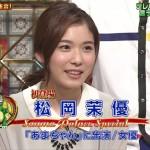 松岡茉優さんの前歯や歯並び