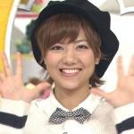 宮澤佐江さんの前歯の画像(小さな欠け・矮小歯)