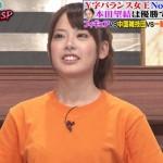 佐藤彩香選手の前歯の画像(歯列矯正)