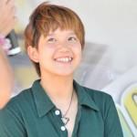 奈良岡彩子選手の前歯の画像(八重歯)