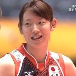 江畑幸子選手の前歯の画像(八重歯・歯列矯正)