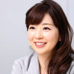 松尾由美子アナウンサーの前歯の画像(審美歯科治療済み)