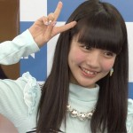 荻野可鈴さんの前歯の画像(八重歯・ビーバー歯)