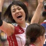 迫田さおり選手の前歯の画像
