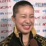 庄司理紗選手の歯並びと前歯の画像(歯列矯正済み・ガミースマイル)