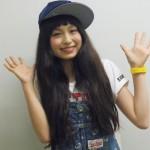 トミタ栞さんの前歯の画像(ビーバー歯)