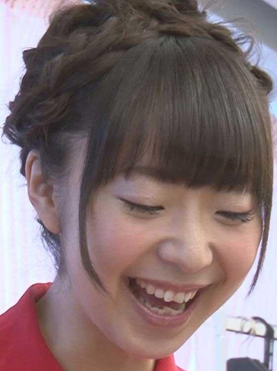 橘田いずみ 笑顔