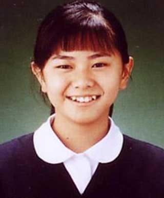 倉木麻衣 学生時代の写真