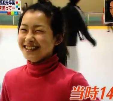 村上佳菜子 14歳の頃の写真