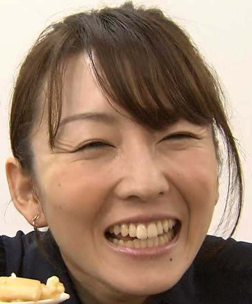 狩野恵里 笑顔